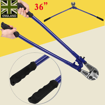 """36"""" T8 Steel Bolt Cutters Croppers Wire Cable Chain Lock Cut Padlock Heavy Duty"""