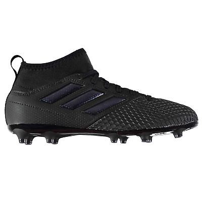 timeless design 6883d 5be52 ADIDAS ACE 17.3 Primemesh Firm Ground Football Boots Juniors Black Soccer  Cleats