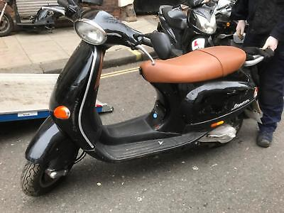 Piaggio ET2 STARTS AND RIDES WELL, 12 MONTHS MOT