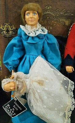 Princess Diana and Charles and baby William Nisbet Doll.