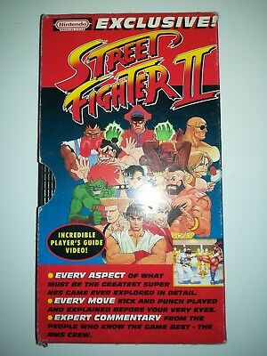 Nintendo Magazine System Issue 3 Gift -Street Fighter 2 VHS Video Player's Guide