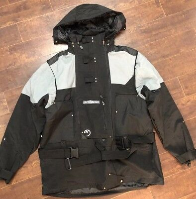 76b454856 STEEP TECH JACKET Parka Hooded Black/Gray MEN's All Sizes THE NORTH ...