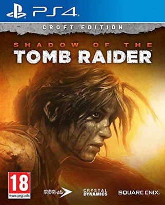 Ps4-Shadow Of The Tomb Raider - Croft Edition [Bn] (Ps4) GAME NEUF