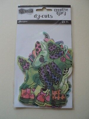 Ranger Dylusions Creative Dyary Dy-Cuts Animals Colour Bnip