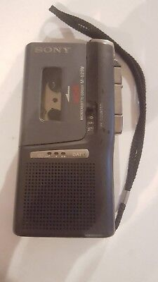 Sony M-629V Micro Cassette Recorder VOR Dictaphone Tested Working Nice Shape