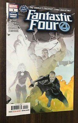 FANTASTIC FOUR #1 (#646) -- Limited PREMIERE VARIANT -- VF/NM Or Better