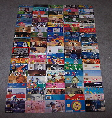 Telecarte France Publique Gros Lot De 100 Toutes Differentes Lot 1