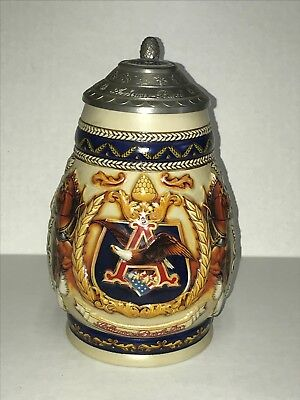 1997 Anheuser-Busch Collectors Club Membership Stein Pride And Tradition Cb5 Nib