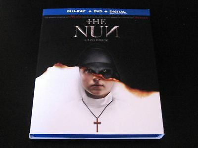 The Nun Blu-ray & Digital Code *No DVD* 2018 Taissa Farmiga The Conjuring