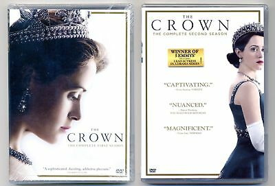 The Crown: Complete Season 1-2  (DVD, 2018, 8-Disc)