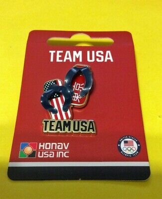 Tokyo Japan 2020 Summer Olympics Team Usa - Geta Slippers With 3-D Straps Pin