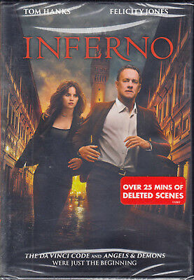 Inferno (DVD, 2017) New