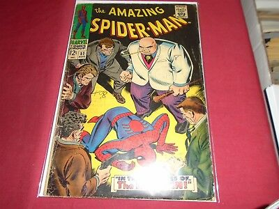 THE AMAZING SPIDER-MAN #51 Silver Age Marvel Comics 1967 GD/GD-