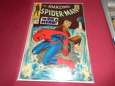 THE AMAZING SPIDER-MAN #52 Silver Age Marvel Comics 1967 VG-