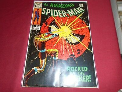 THE AMAZING SPIDER-MAN #72 Silver Age Marvel Comics 1969 G/VG