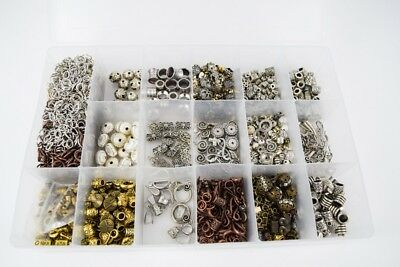 HUGE LOT OF JEWELRY FINDINGS Supplies Silver Brass Copper Clasps Charms Beads