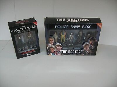 Eaglemoss Dr who  collection Doctors 5th to 8th & War + Companion set