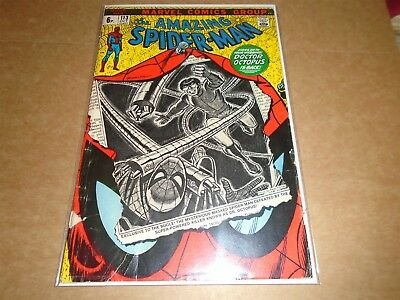 THE AMAZING SPIDER-MAN #113 Marvel Comics 1972 GD