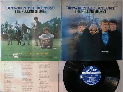 ROLLING STONES BETWEEN THE BUTTONS LONDON SLC-173 Japan LP