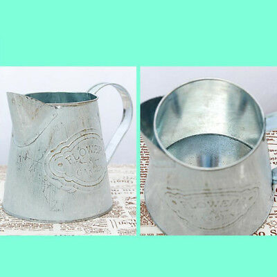 Retro Vintage Flower Pot Balcony Garden Plant Metal Iron Planter Home Decoration