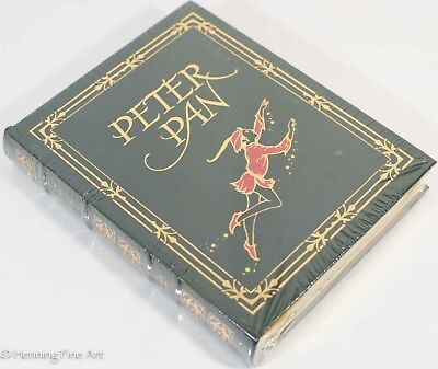 New Sealed Leatherbound Peter Pan By J M Barrie Illustrated By