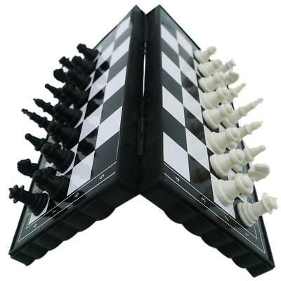 Magnetic Folding Chess Board Portable Set With Pieces Games Sport Kids Toy New