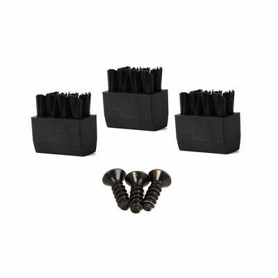 3pcs Brushes Kits Durable Replace For Hostage Arrow Rest Archery Bow Black