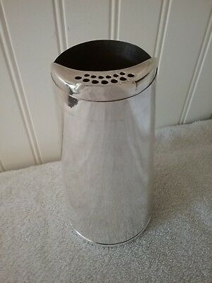 Vintage Silverplated Napier Cone Cocktail Shaker