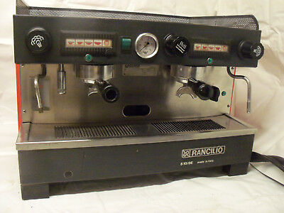 Rancilio 2-Group Commercial Espresso Machine Classic Coffee House Workhorse 220v