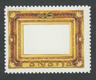 DIE CUT = GOLD LEAF FRAME = Picture Postage stamps Canada 2000 #1853i MNH-VF