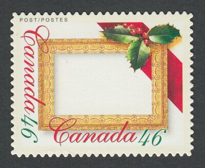 DIE CUT = CHRISTMAS FRAME = Picture Postage stamps MNH-VF Canada 2000 #1872i