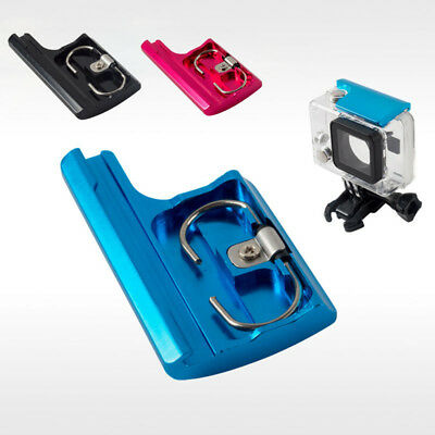 Blue/ Red/ Black  Top Housing Clip Case Lock Buckle Latch For GoPro Hero 4 3+