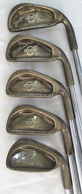 Jack Nicklaus MacGregor RPM Partial Iron Set Cavity Back Parabolic Groove Clubs