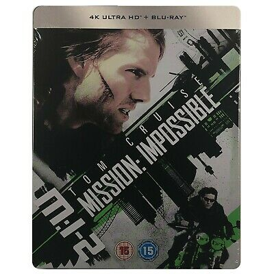 Mission Impossible 2 4K Ultra HD Steelbook - Limited Edition Blu-Ray