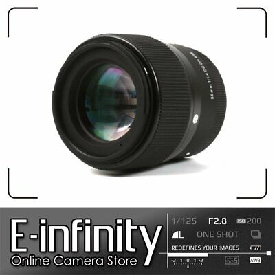 NEW Sigma 56mm f/1.4 DC DN Contemporary Lens for SonyE