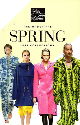 SAKS FIFTH AVENUE LOOK BOOK CATALOG Spring 2019 Collection