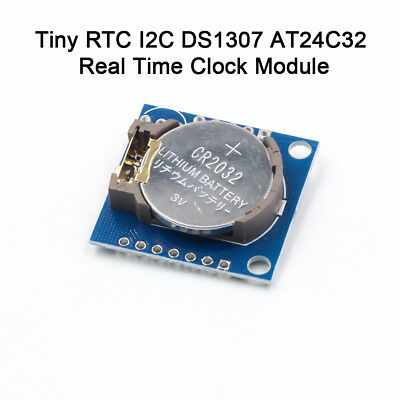 Tiny RTC I2C DS1307 AT24C32 Real Time Clock Module For Arduino AVR PIC 51 ARM US