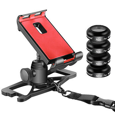 ND4 ND8 ND16 ND32 Filter and Phone Remote Controller Holder for DJI Mavic Pro