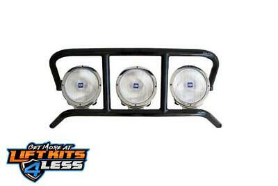 N-Fab C07DRP-TX Text. Black DRP Light Cage for 07-10 Chevy 2500/3500 HD/1500