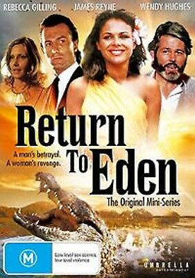 Return To Eden The Original Mini-Series(Dvd 2 Disc Set) Brand New And Sealed