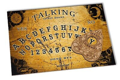 Wooden Ouija Board game & Planchette with instruction. Spirit hunt Bizarre Ghost