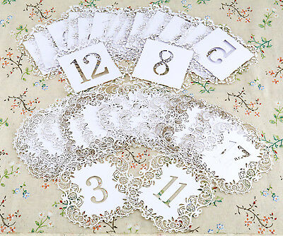 20X Wedding Table Number 1-20 Paper Seats Card Banquet Feast Party Decor 2 Model