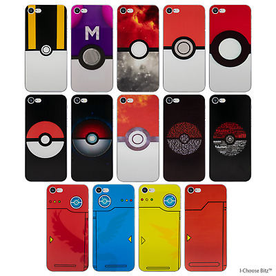 """Pokemon Case/Cover For Apple iPhone 7 (4.7"""") / Screen Protector / Soft Silicone"""