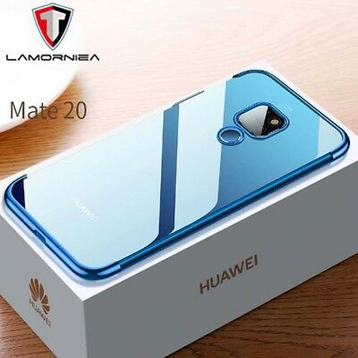 Huawei Mate 20 PRO Lite Shockproof Plating Clear Phone Case Ultra Light Cover