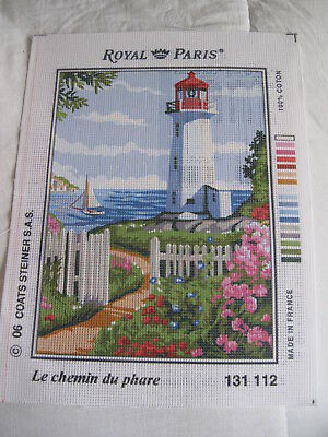Royal Paris Tapestry Canvas Only - Le Chemin Du Phare (To The Lighthouse-131 112
