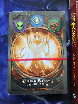 Keyforge Deck GREAT NAME Mars Sanctum Untamed 1 TREBLE 6 DOUBLES Sealed with Box