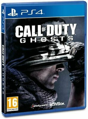 Videogioco Call Of Duty Ghosts Ps4 Gioco Italiano Playstation 4 Black Ops Ghost
