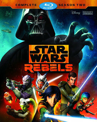 Star Wars Rebels: The Complete Season 2 (Second Season) (3 Disc) BLU-RAY NEW