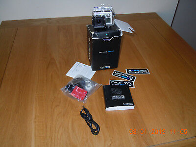 Mint GoPro Hero 3 Black/Silver with housing in box