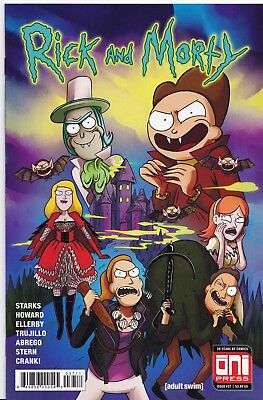 RICK AND MORTY (2015) #37 - Cover A - New Bagged